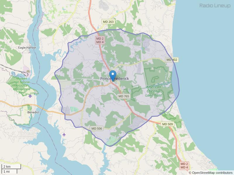 WMJS-LP Coverage Map
