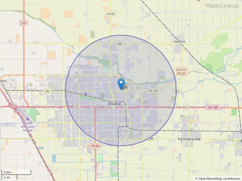KVLP-LP Coverage Map