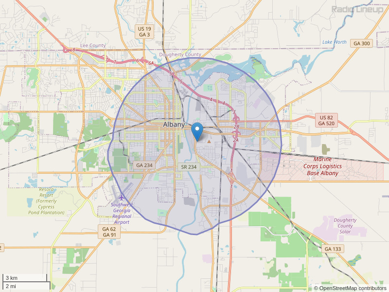 WASU-LP Coverage Map