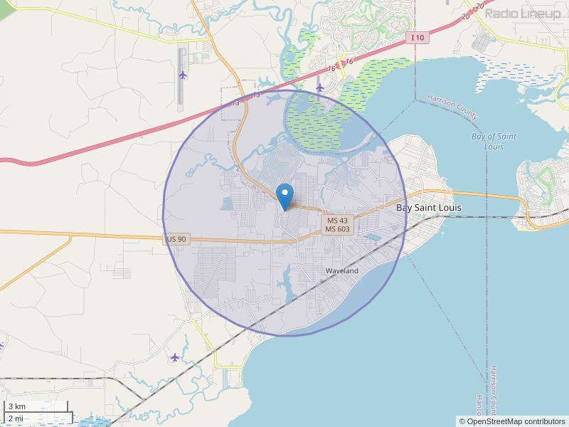 WQRZ-LP Coverage Map