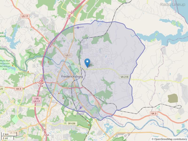 WLMP-LP Coverage Map