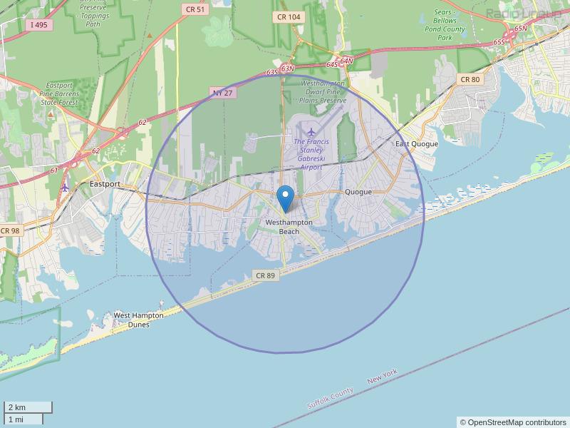 WAPP-LP Coverage Map
