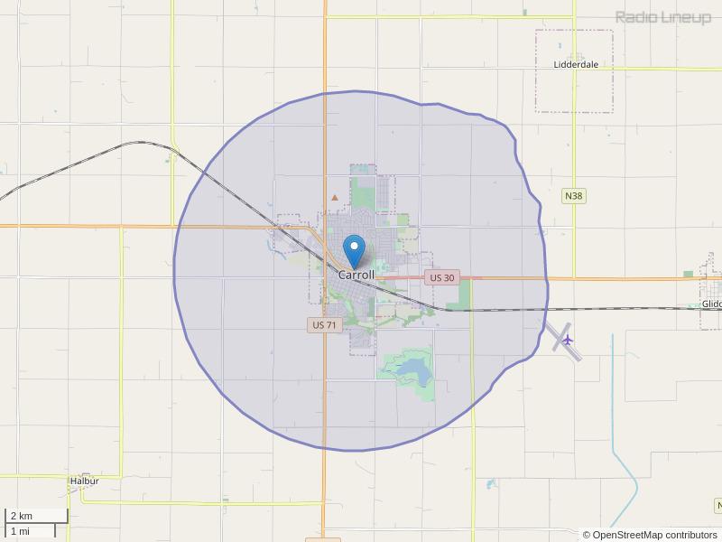 KYMJ-LP Coverage Map