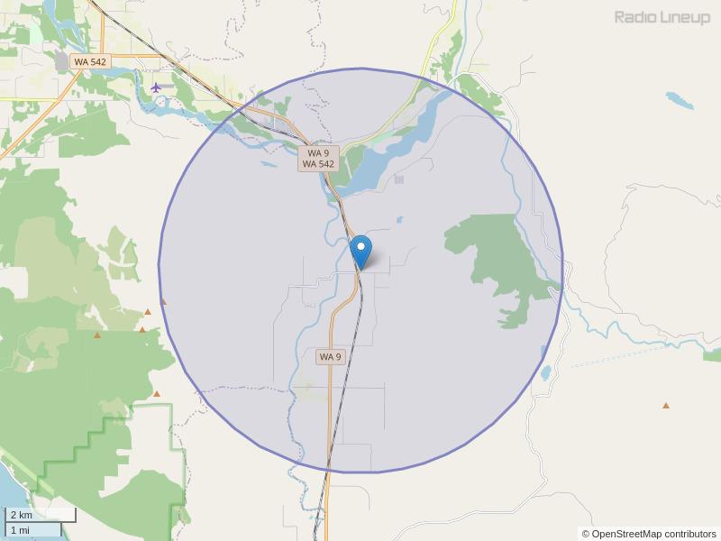 KAVZ-LP Coverage Map