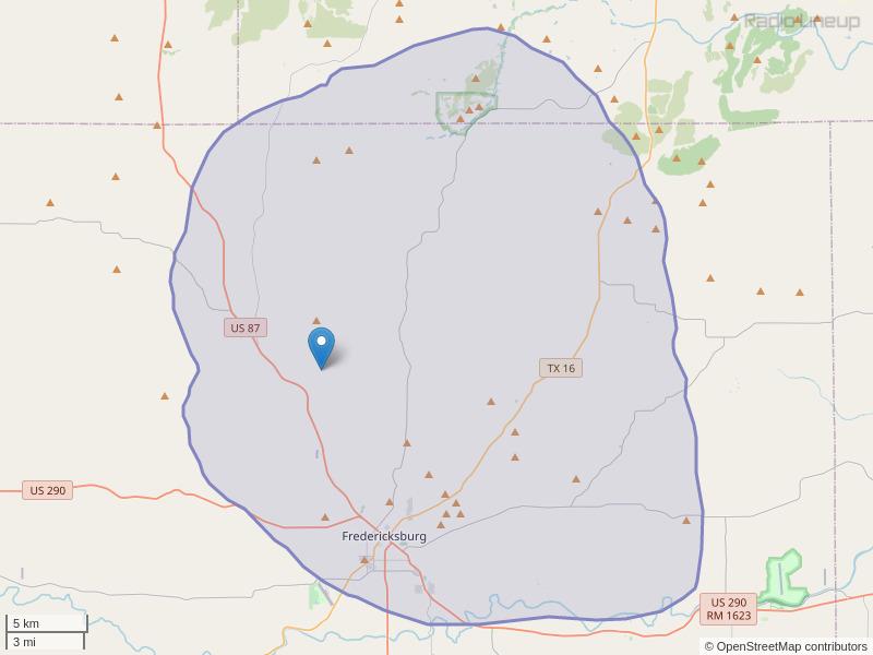 KIVM-FM Coverage Map