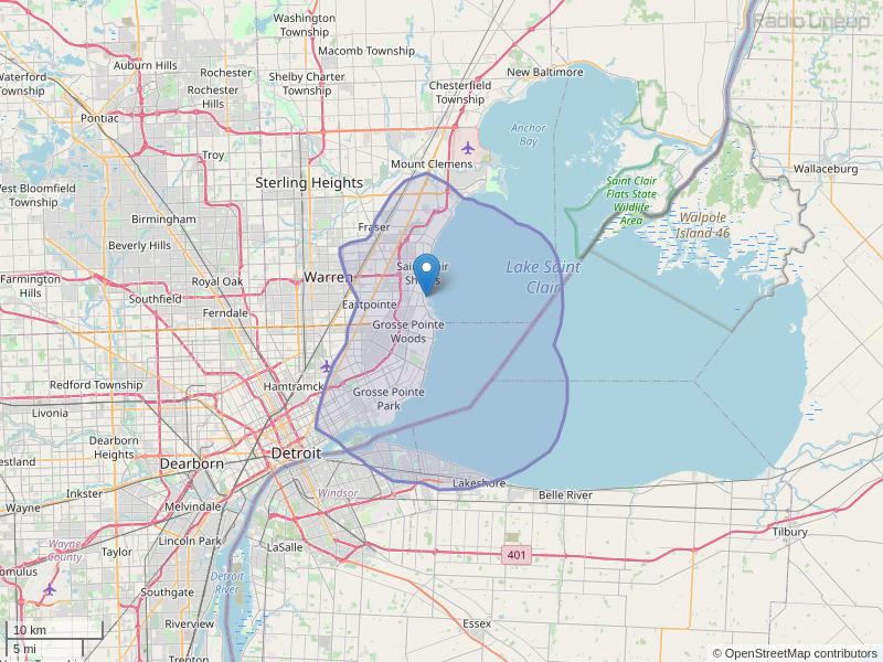 WDTE-FM Coverage Map