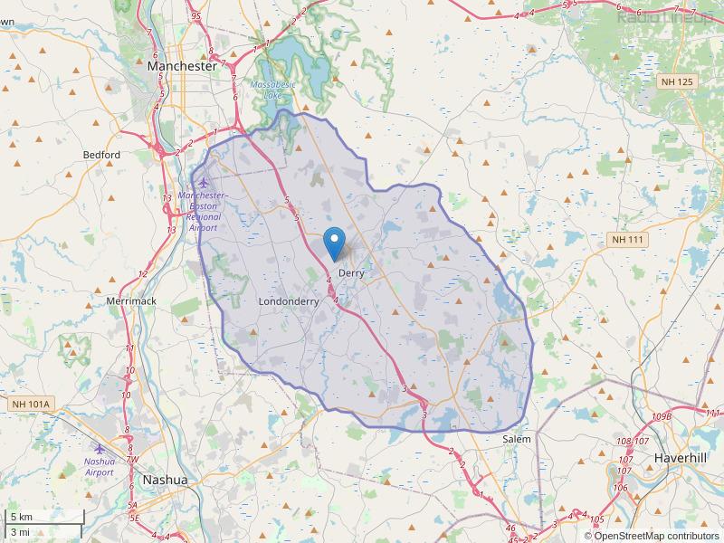 WYDI-FM Coverage Map