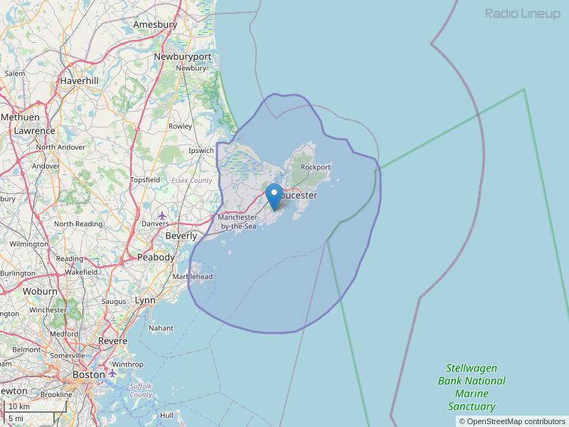 WWRN-FM Coverage Map