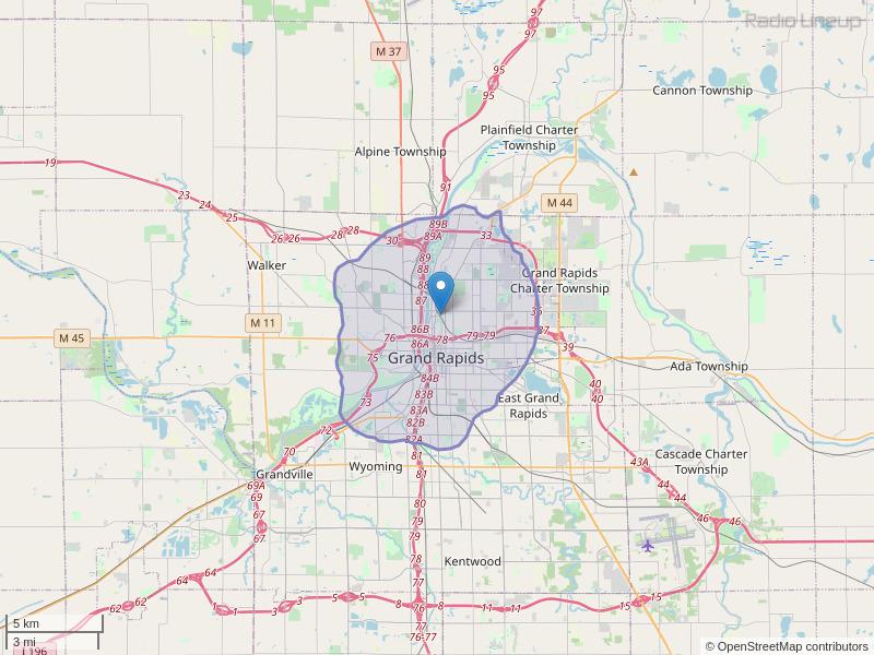 WSNH-LP Coverage Map