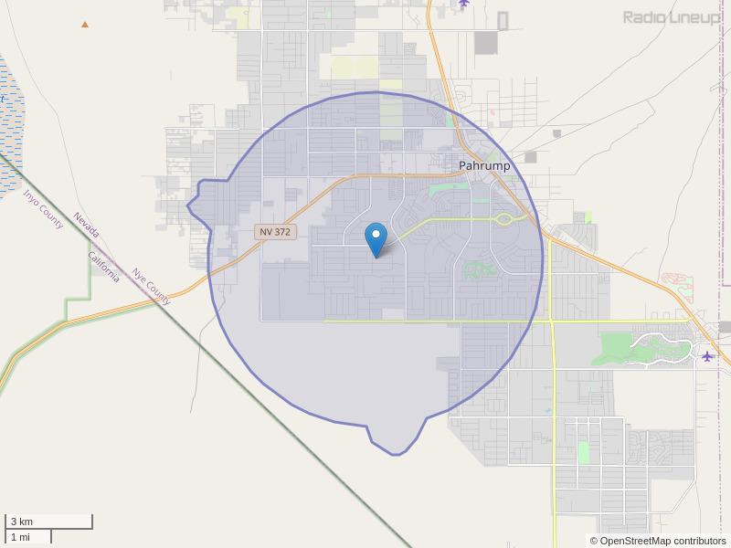 KPFV-LP Coverage Map