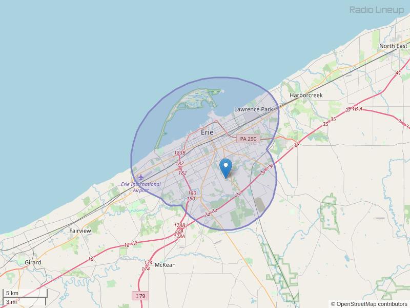 WBTB-LP Coverage Map