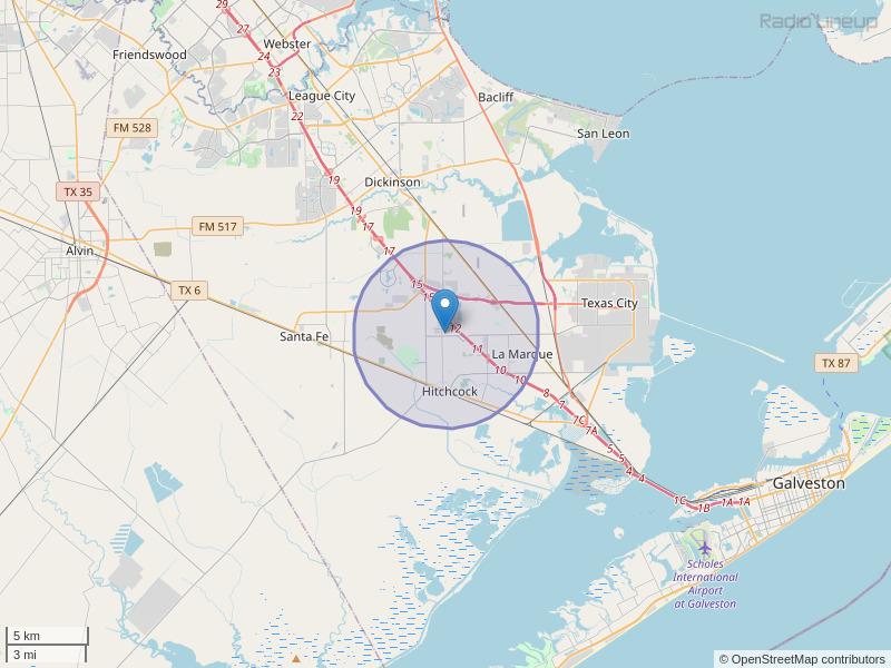 KHEA-LP Coverage Map