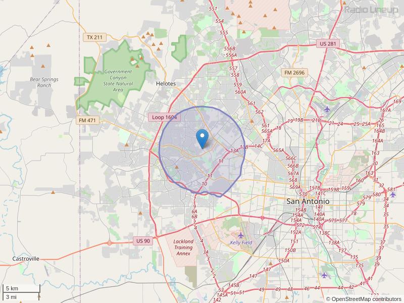 KXTJ-LP Coverage Map