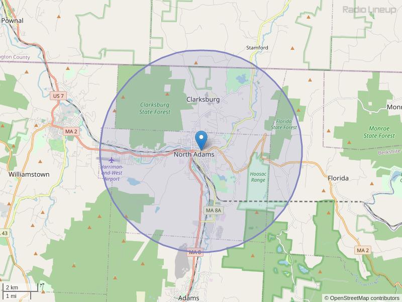WMNB-LP Coverage Map