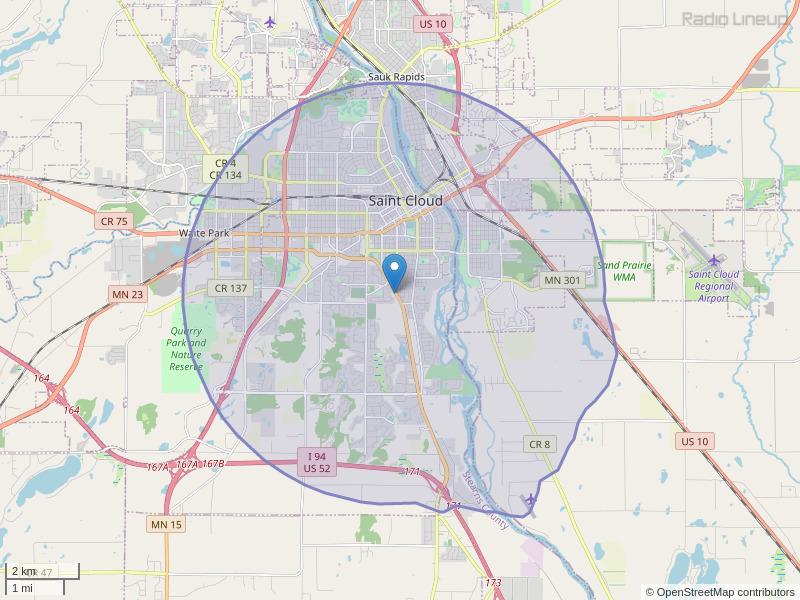 WROJ-LP Coverage Map