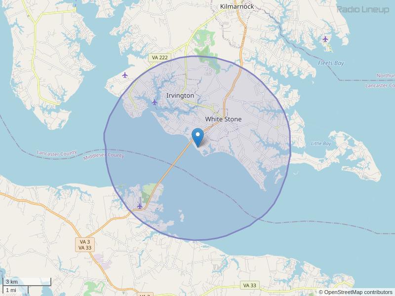 WWND-LP Coverage Map