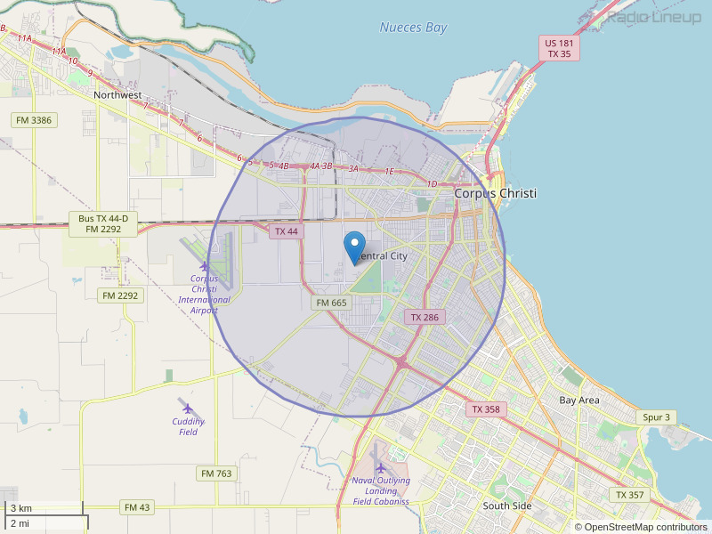 KSRB-LP Coverage Map