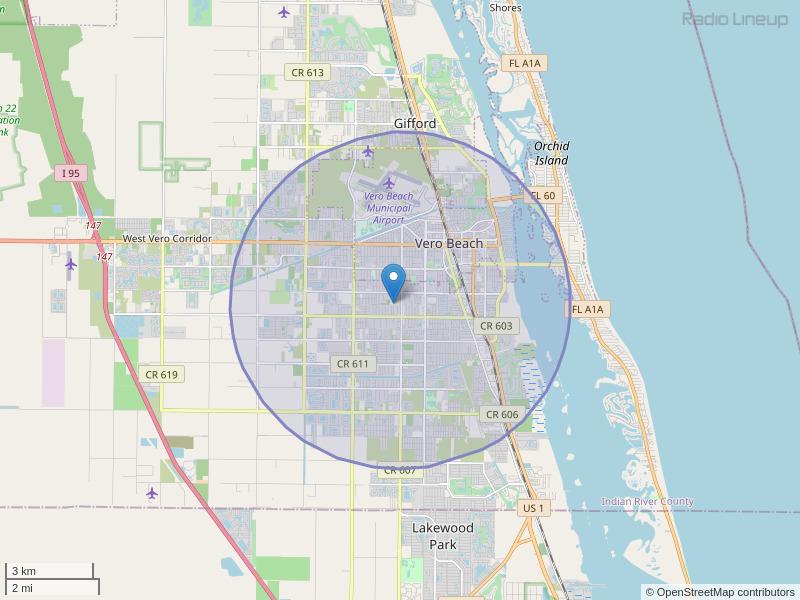 WVRO-LP Coverage Map