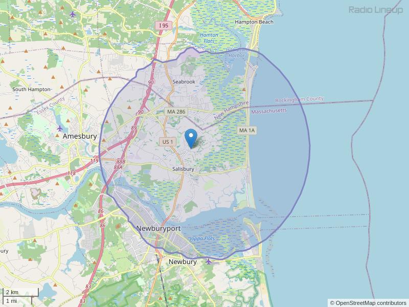 WXBJ-LP Coverage Map