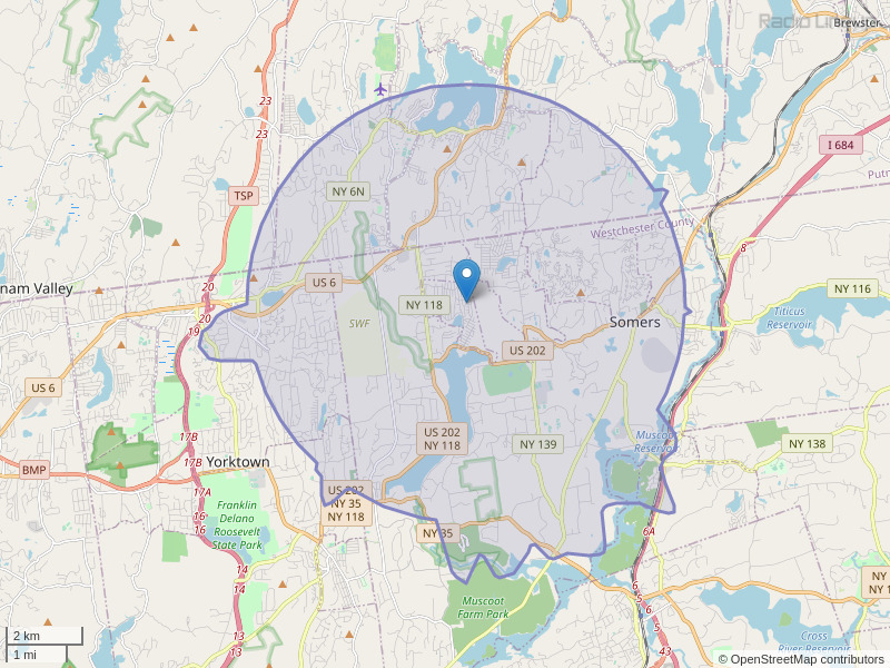 WKBR-LP Coverage Map