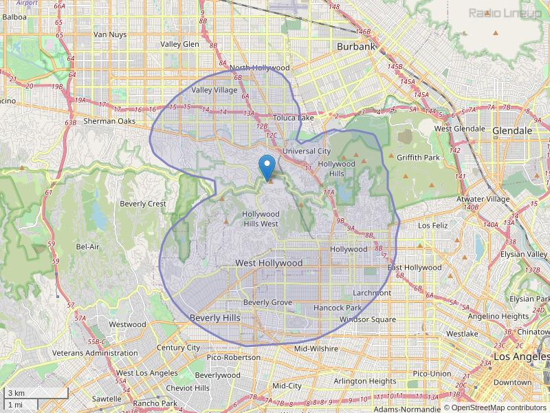 KLDB-LP Coverage Map