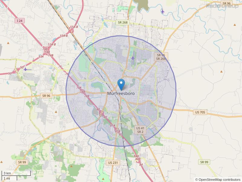 WQJZ-LP Coverage Map