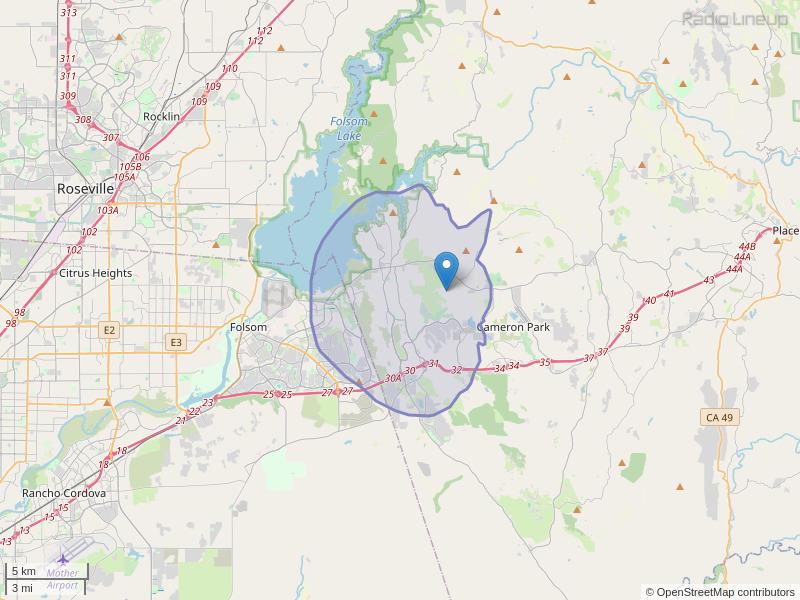 KCFS-LP Coverage Map