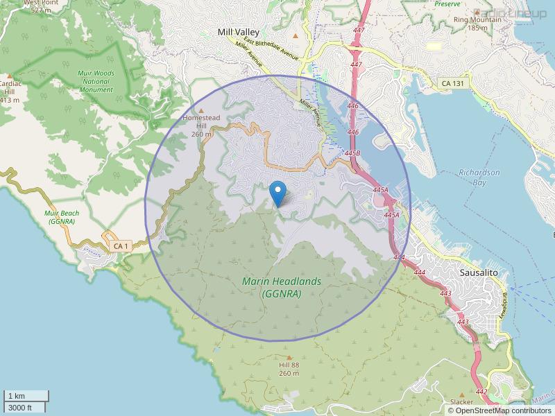 KPEA-LP Coverage Map