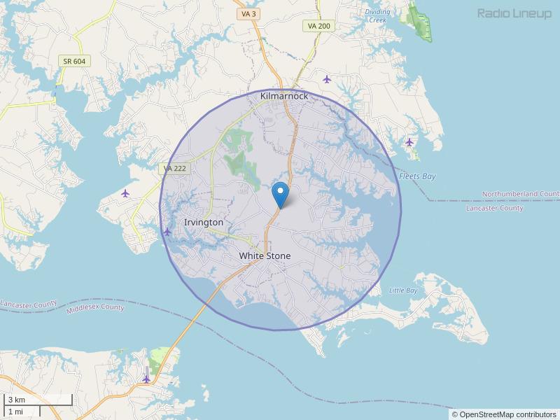 WRPK-LP Coverage Map