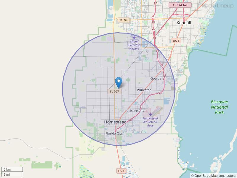 WRGP-FM Coverage Map