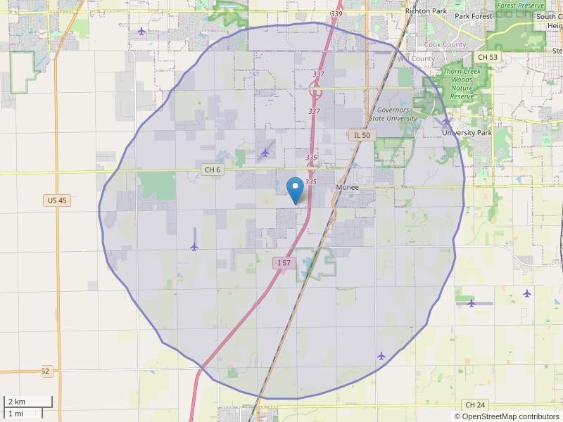 WGEN-FM Coverage Map