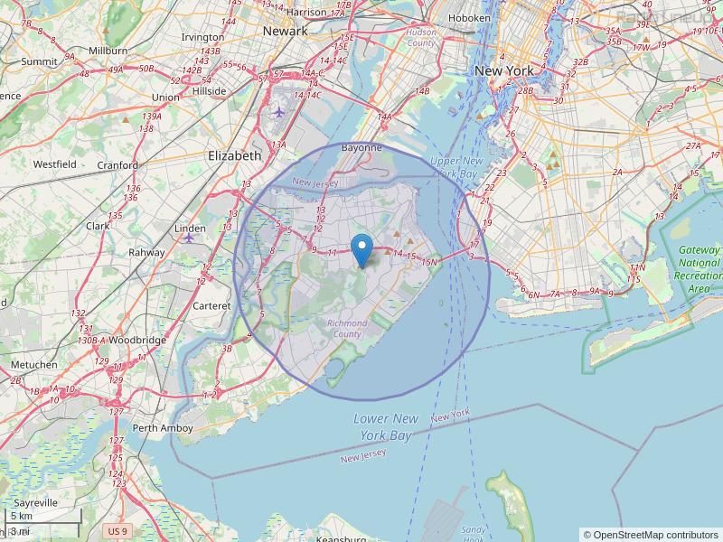 WSIA-FM Coverage Map